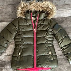 Michael Kors Jackets & Coats - Michael kors green puffer jacket